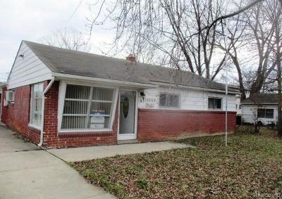 Macomb Single Family Home For Sale: 26456 Barnes