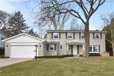 Troy Single Family Home For Sale: 3871 Boulder Dr