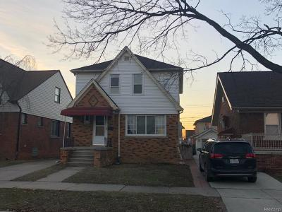 Dearborn Single Family Home For Sale: 6135 Coleman St