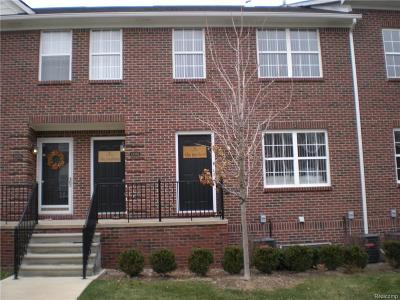 Sterling Heights Condo/Townhouse For Sale: 43021 Burlington Dr