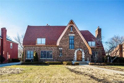 Grosse Pointe Park Single Family Home For Sale: 775 Berkshire Rd