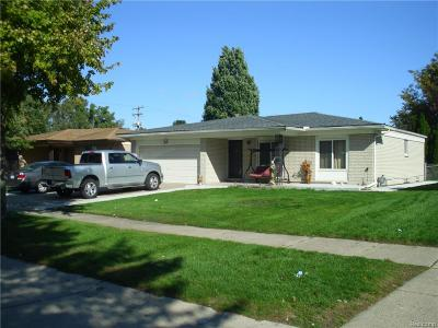 Sterling Heights MI Single Family Home For Sale: $249,800