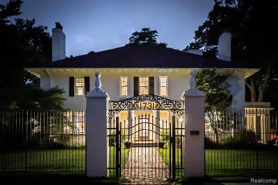 Detroit Single Family Home For Sale: 1731 Seminole St