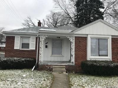 Wayne Single Family Home For Sale: 19510 Whitcomb St