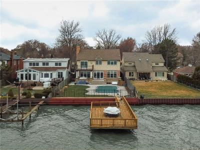 Saint Clair Shores MI Single Family Home For Sale: $919,900
