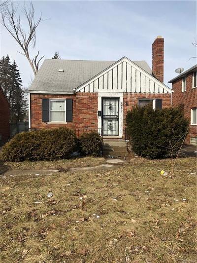 Wayne Single Family Home For Sale: 22474 W McNichols Rd