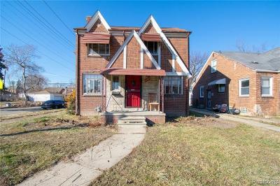 Detroit Single Family Home For Sale: 10303 Roxbury St