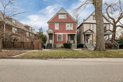 Detroit Multi Family Home For Sale: 1518 Parker St