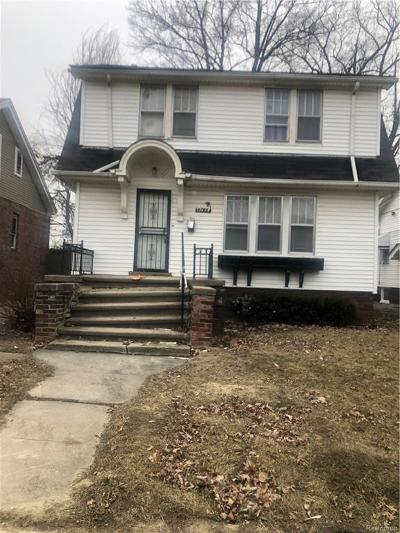 Detroit Single Family Home For Sale: 4185 Buckingham Ave