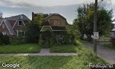 Detroit Single Family Home For Sale: 9528 Montrose St