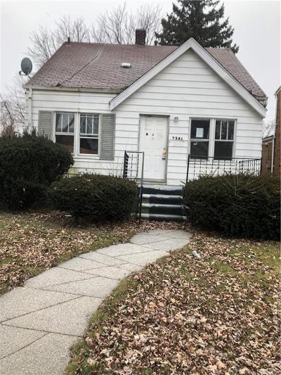 Detroit Single Family Home For Sale: 7281 Ashton Ave