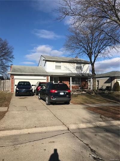 Sterling Heights MI Single Family Home For Sale: $219,000