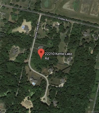 Oakland Residential Lots & Land For Sale: 22210 Kettle Lake Rd