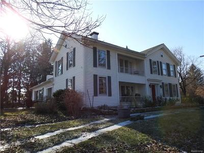 Lapeer Single Family Home Keep Showing-Contgcy Appl: 1608 Peppermill