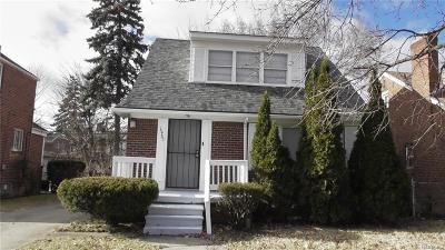 Detroit Single Family Home For Sale: 15785 Ferguson St