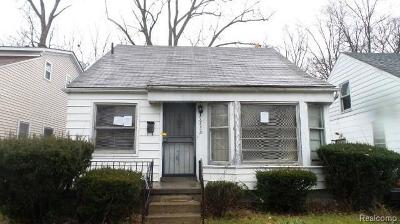 Detroit Single Family Home For Sale: 19452 Mansfield St
