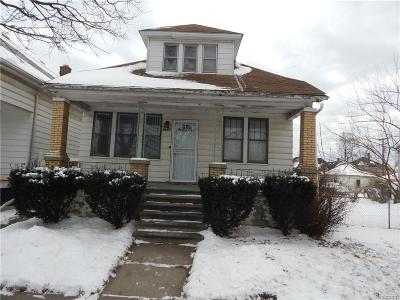 Detroit Single Family Home For Sale: 8617 Kirkwood St