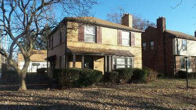 Detroit Single Family Home For Sale: 12954 Longacre