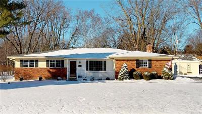 Rochester Hills Single Family Home For Sale: 390 E Maryknoll Rd
