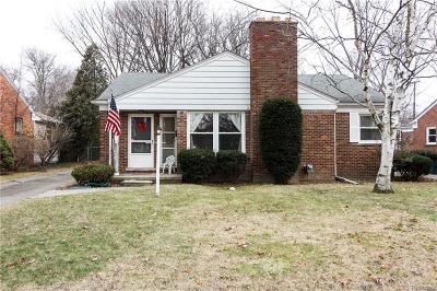 Huntington Woods Single Family Home For Sale: 13128 Lasalle Blvd