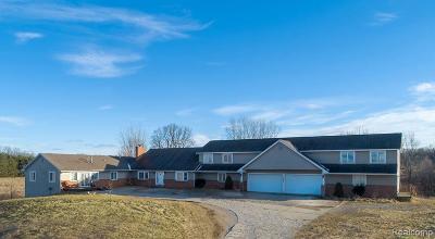 Single Family Home For Sale: 11280 Hegel Rd