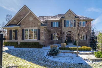 Clarkston Single Family Home For Sale: 5672 Golf Pointe Dr
