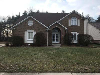 West Bloomfield Single Family Home For Sale: 1468 Stauch Dr