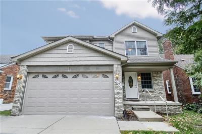 Saint Clair Shores Single Family Home For Sale: 22437 Statler