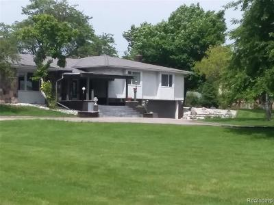 Sterling Heights Single Family Home For Sale: 5309 Eighteen 1/2 Mile Rd