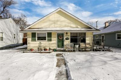 Berkley Single Family Home For Sale: 3622 Tyler Ave