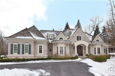 Bloomfield Hills Single Family Home For Sale: 69 Scenic Oaks Dr E