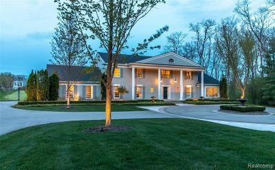 Bloomfield Hills Single Family Home For Sale: 3955 Lahser Rd