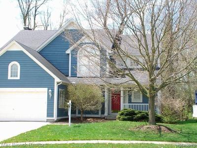 Auburn Hills Single Family Home For Sale: 3760 Eaton Gate Ln