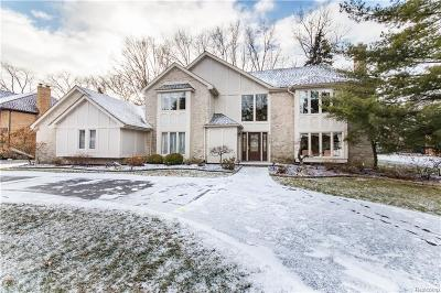 Bloomfield Hills Single Family Home For Sale: 3627 Maxwell Crt