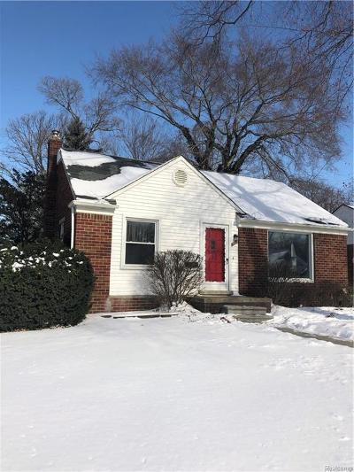 Royal Oak Single Family Home For Sale: 1309 Gardenia Ave