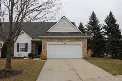 Auburn Hills Condo/Townhouse For Sale: 3305 Grove Ln
