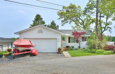 Waterford Single Family Home For Sale: 3930 Lamont Dr