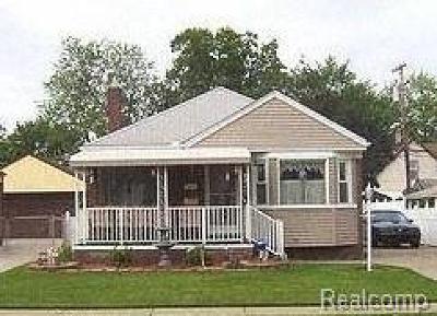 Allen Park Single Family Home For Sale: 14541 White Ave
