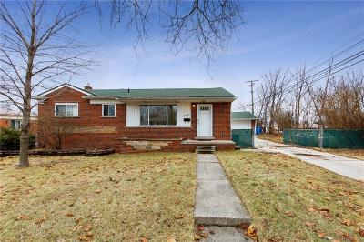 Dearborn Heights Single Family Home For Sale: 7208 Fairwood Dr