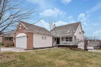 Clarkston Condo/Townhouse For Sale: 6598 Forest Ridge Crt