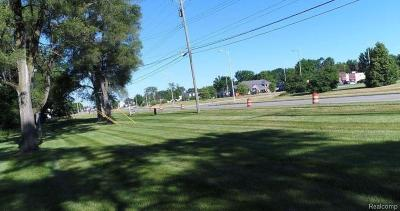 Sterling Heights Residential Lots & Land For Sale: 8850 Hall Rd