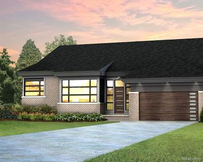 Bloomfield Hills Single Family Home For Sale: 3908 Legacy Hills Lot#02 Dr