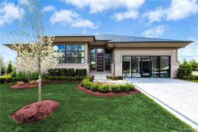 Bloomfield Hills Single Family Home For Sale: 3921 Legacy Hills Lot#12 Dr
