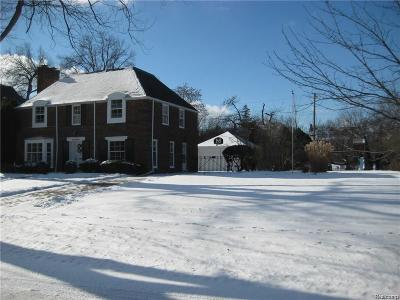 Grosse Pointe Park Residential Lots & Land For Sale: 1269 Audubon (Vacant Land)