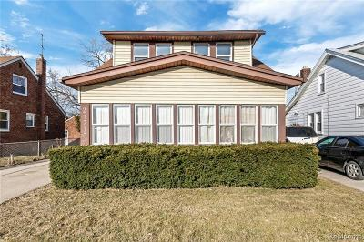 Eastpointe Single Family Home For Sale: 21715 Nevada Ave