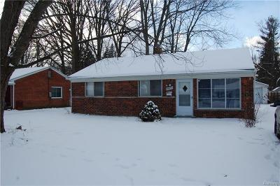 Southfield Single Family Home For Sale: 28095 Selkirk St