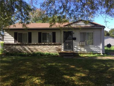 Flint Single Family Home For Sale: 6813 Fleming Rd