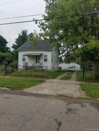 Flint Single Family Home For Sale: 3517 Chicago Blvd