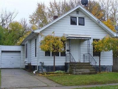 Flint Single Family Home For Sale: 2537 Brown St