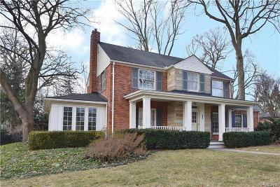 Birmingham Single Family Home For Sale: 515 N Glenhurst Dr